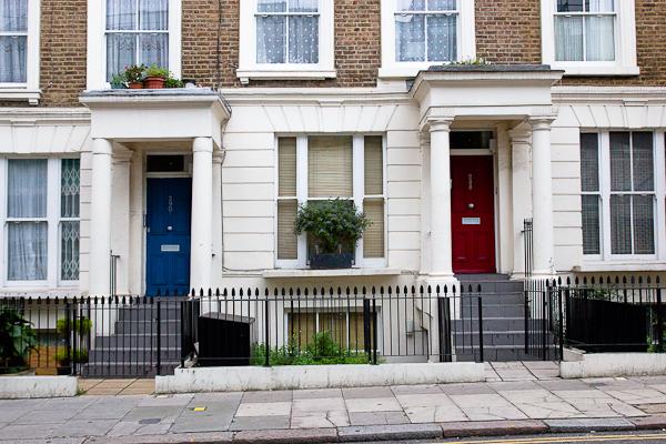 Londres mes quelques impressions - Maison anglaise typique ...