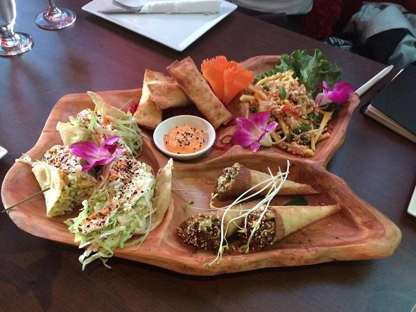 Plateau de tapas coréennes - Restaurant Kiyomi Centropolis, Laval