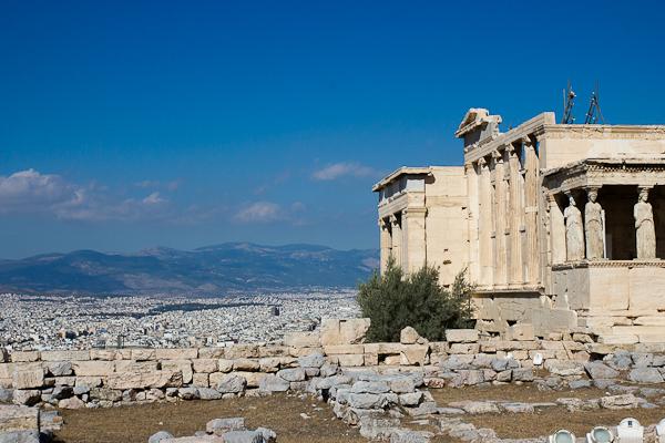 Sur la colline de l'Acropole - Athènes, Grèce