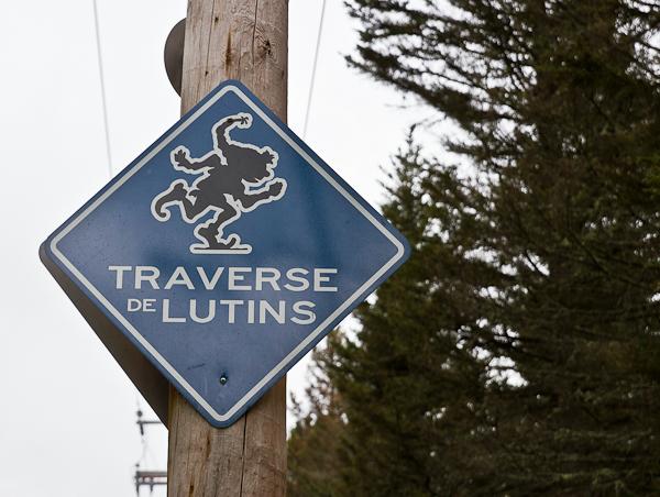 Traverse de lutins - Saint-Élie-de-Caxton - Mauricie, Québec