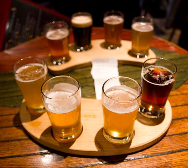 Verres de bière du Trou du Diable - Shawinigan - Mauricie, Québec