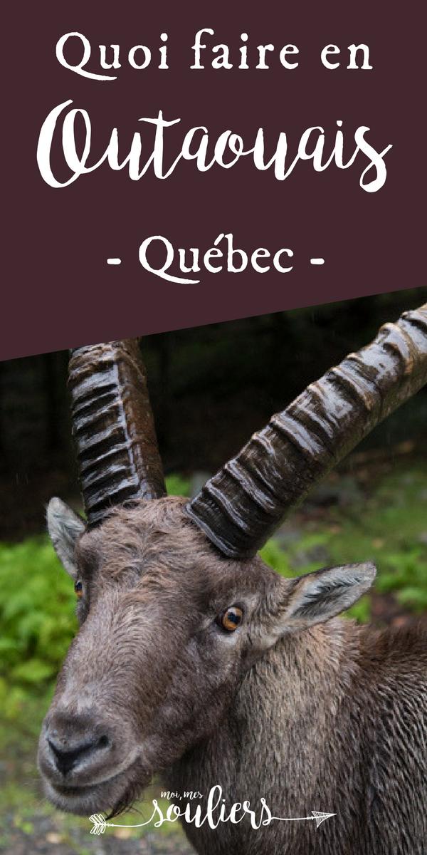 Parc Oméga - Outaouais, Québec