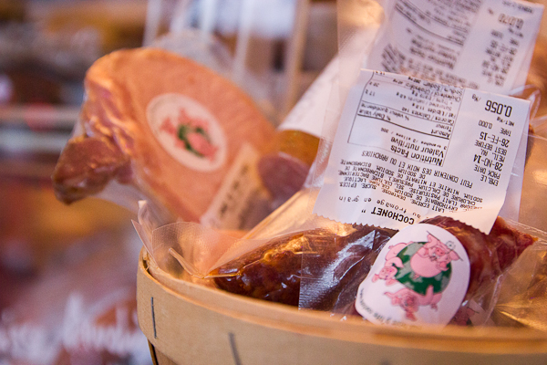 3 petits cochons verts - Marché de Noel de L'Assomption - Lanaudière
