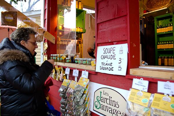 Jardins Sauvages - Marché de Noel de L'Assomption - Lanaudière