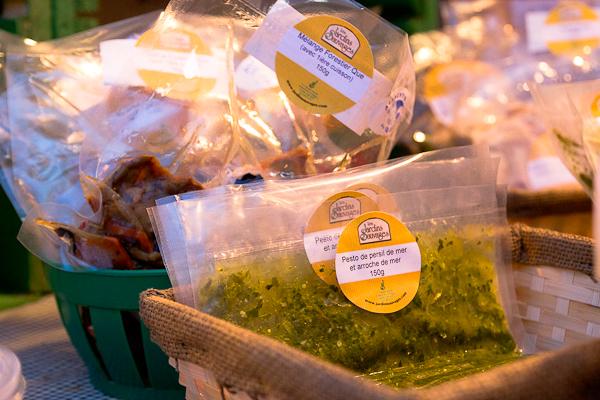 Pesto aux algues - Jardins Sauvages - Marché de Noel de L'Assomption - Lanaudière