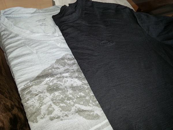 T-shirts en laine mérinos