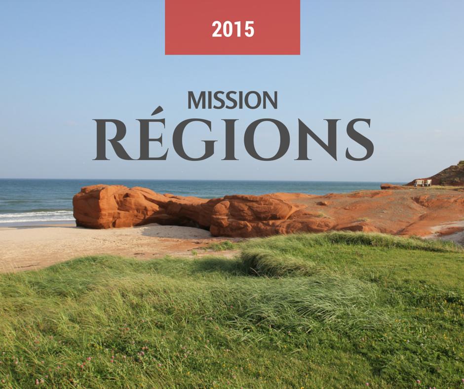 Mission Régions du Québec 2015