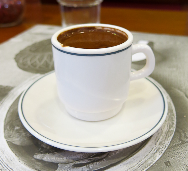 Café turc - Istanbul, Turquie