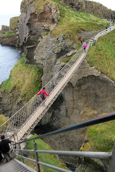 Carrick-a-Rede bridge - Irlande