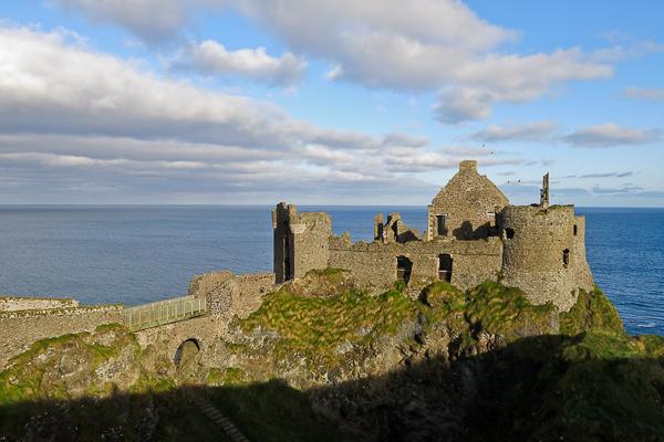 Château - Giant's Causeway - Chaussée des géants - Irlande