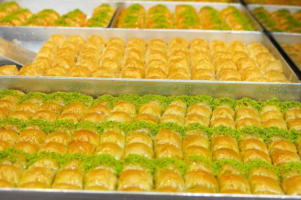 Des baklavas à profusion - Istanbul, Turquie