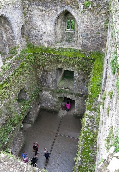 Intérieur du Blarney Castle - Irlande