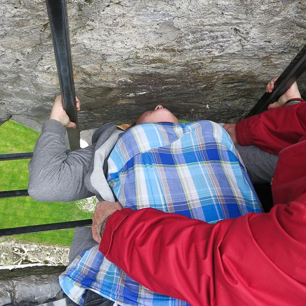 J'embrasse la Blarney Stone