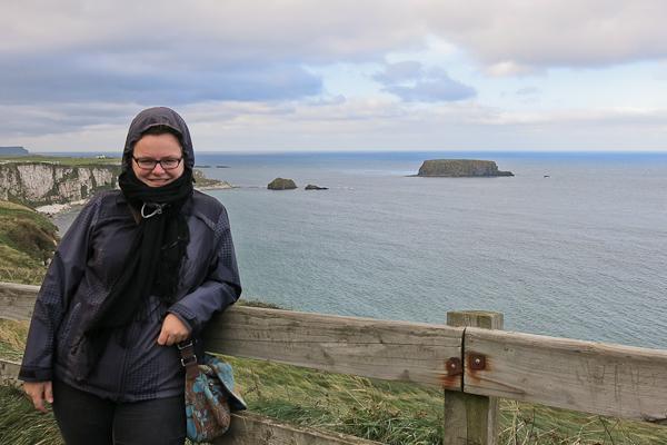 Jennifer Giant's Causeway - Chaussée des géants - Irlande
