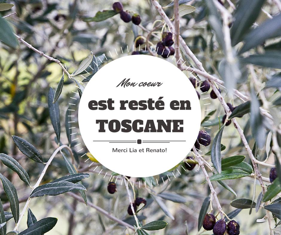 Mon coeur est resté en Toscane