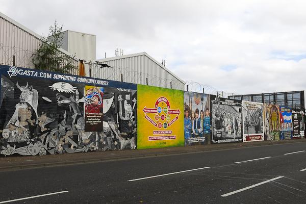 Murales de Belfast - Irlande