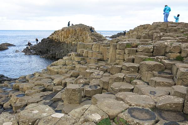 Panorama Giant's Causeway - Chaussée des géants - Irlande