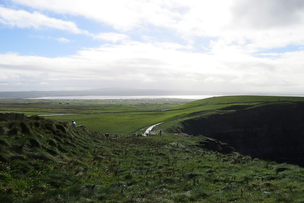 Paysage verdoyant irlandais