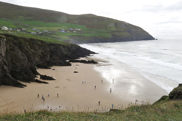 Plage et océan Dingle Peninsula - Irlande