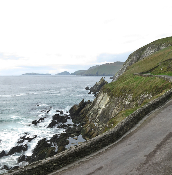 Route au bord de mer Dingle Peninsula - Irlande