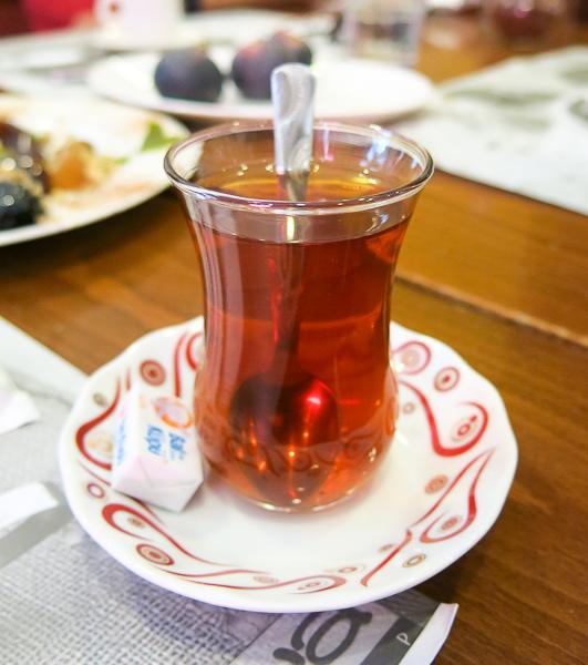 Thé aux pommes - Istanbul, Turquie