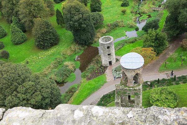 Vue du Blarney Castle - Irlande