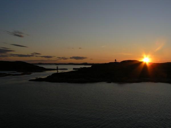 Coucher de soleil Basse-Côte-Nord