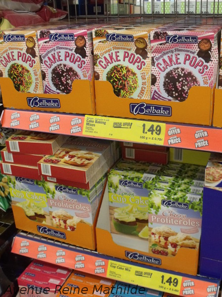 courses dans un supermarché du Royaume-Uni