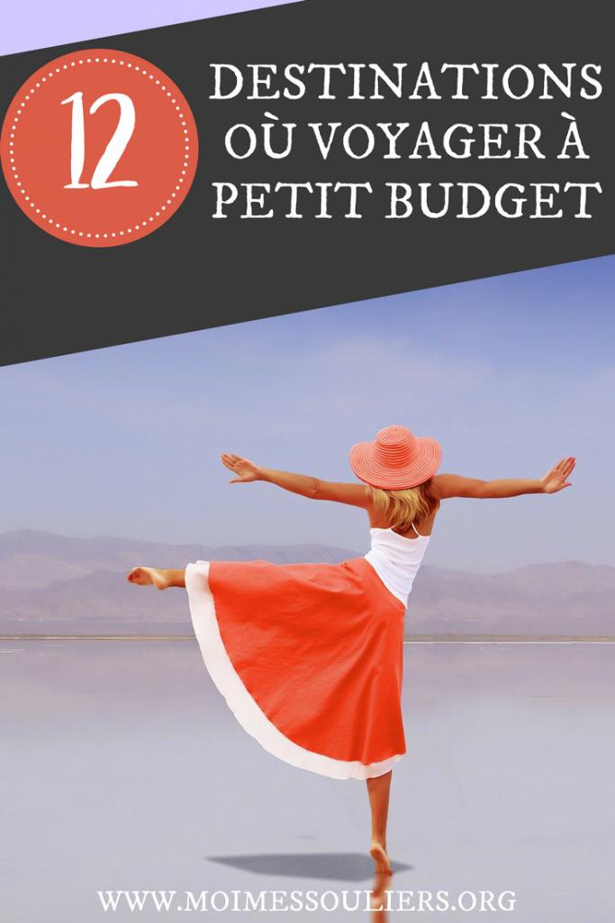 12 destinations voyage à petit budget