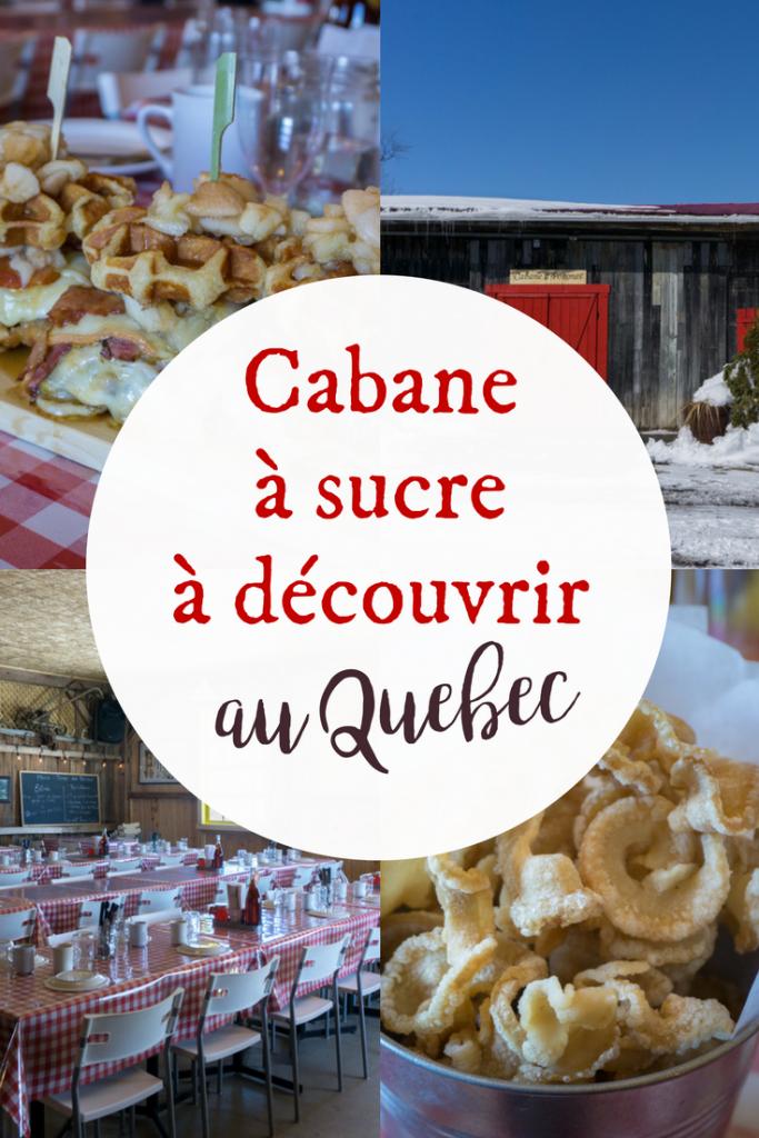 Cabane à pommes - les cabanes à sucre à découvrir au Québec