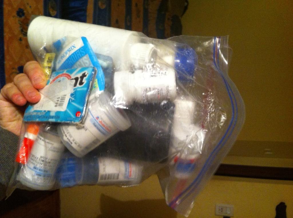 Mon kit de santé en voyage