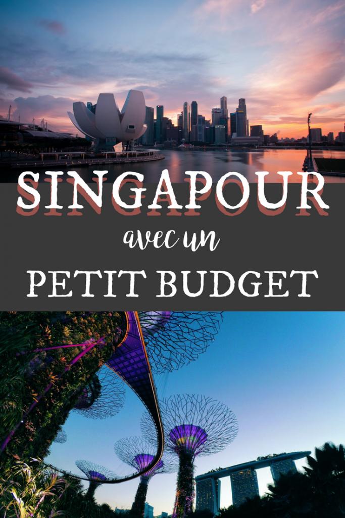Singapour avec un petit budget