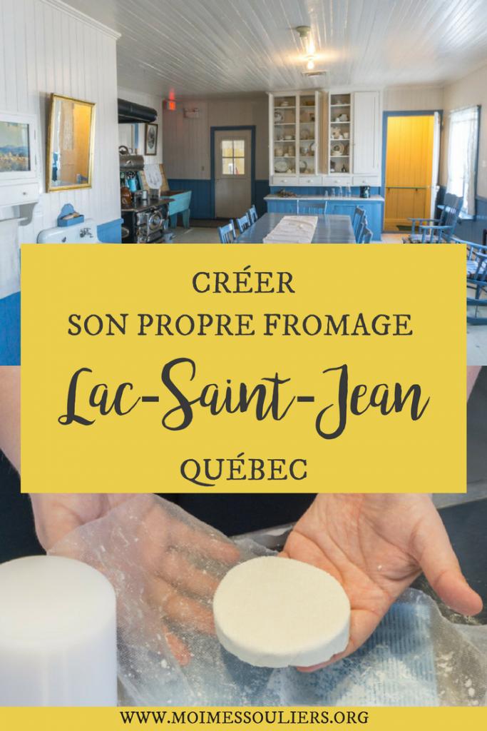 Créer son propre fromage au Lac-Saint-Jean