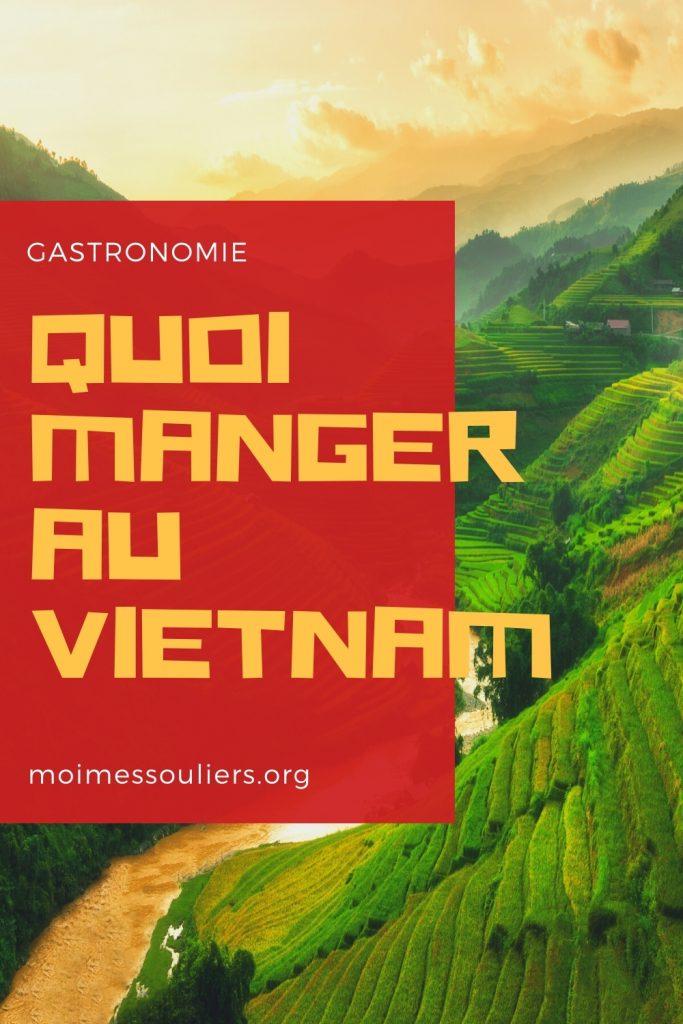 Quoi manger au Vietnam
