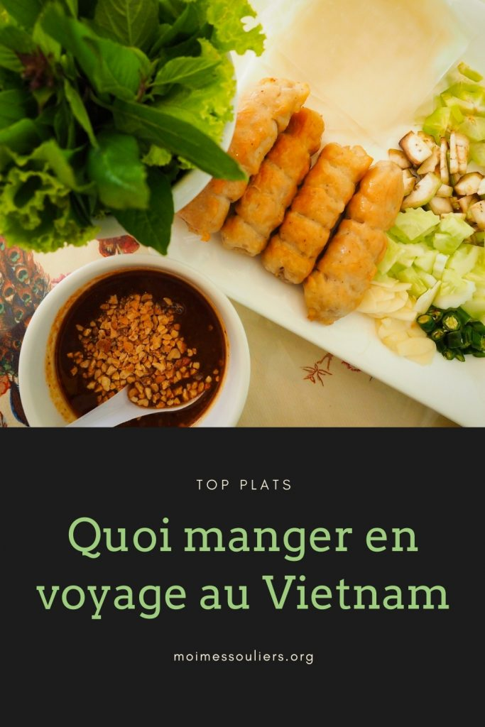 Voyage au Vietnam: quoi manger