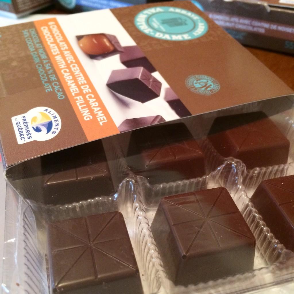 Boîte - Chocolats de l'Abbaye Val Notre-Dame