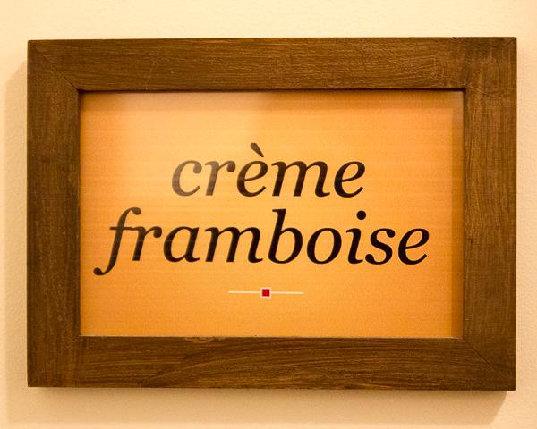 Crème Framboise - La Maison Banville - Saguenay-Lac-St-Jean