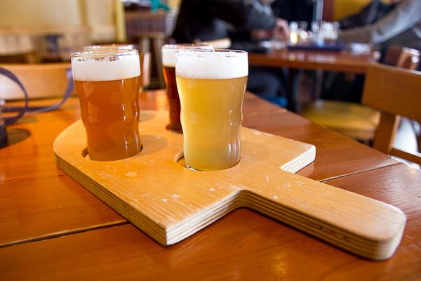 Dégustation de bières - Microbrasserie du Lac Saint-Jean - Saguenay-Lac-Saint-Jean