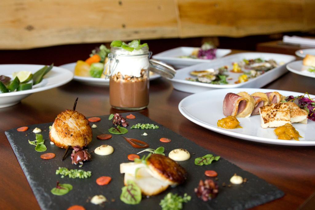 De nombreux plats du menu régulier rappelés en bouchée lors de la soirée de lancement