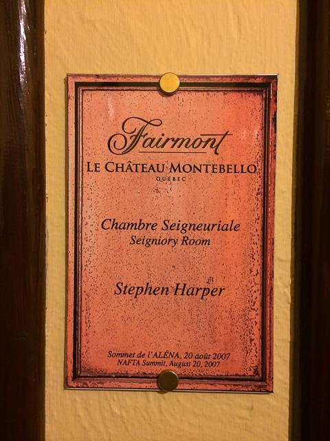 Chambre - Fairmont Château Montebello
