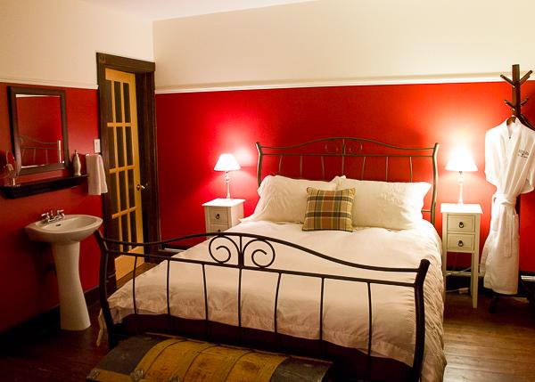 La chambre Crème framboise - La Maison Banville - Saguenay-Lac-St-Jean