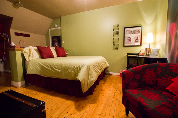 Ma chambre - Château Murdock - Chicoutimi - Saguenay-Lac-St-Jean