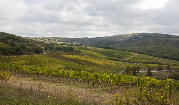 Panorama de Toscane, Italie