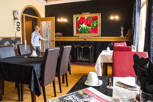 Salle à manger - Château Murdock - Chicoutimi - Saguenay-Lac-St-Jean