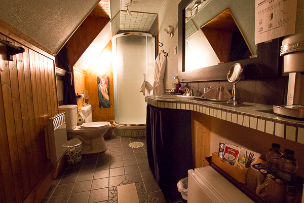 Salle de bains - Château Murdock - Chicoutimi - Saguenay-Lac-St-Jean