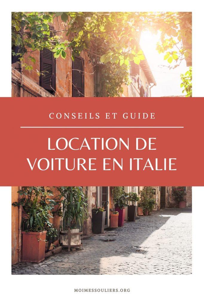 Conseils de location de voiture en Italie