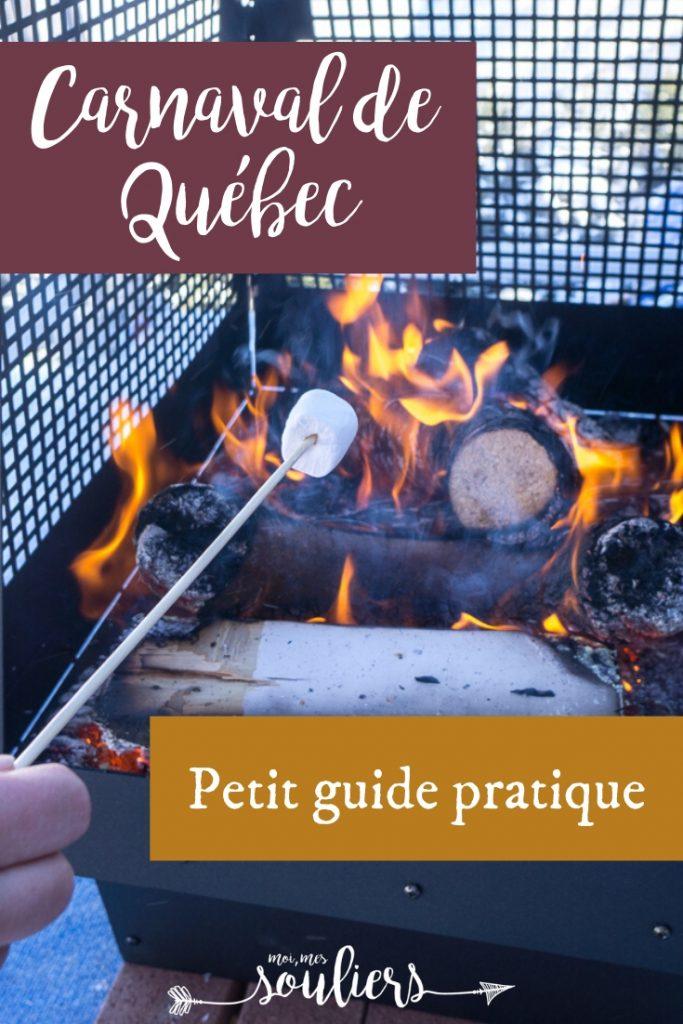 Guide pratique Carnaval de Québec