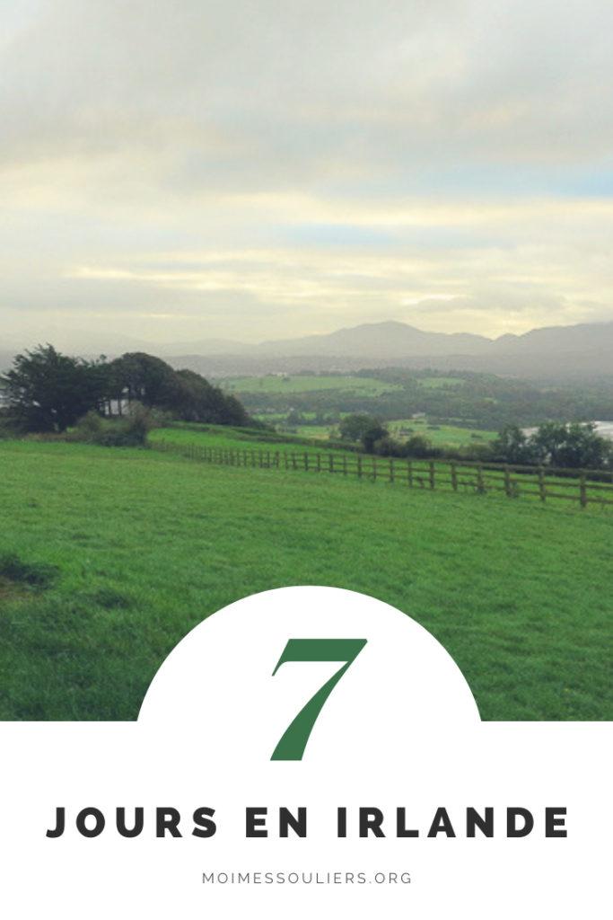 Itinéraire de 7 jours en Irlande