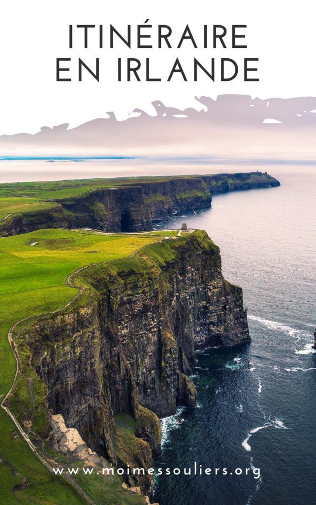 Itinéraire de voyage en Irlande