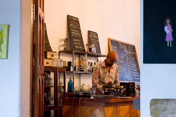 Caisse du Espressionnista Café, Granada, Nicaragua